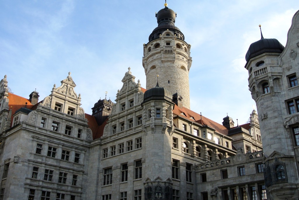 Neues Rathhaus, Leipzig - New city hall, Leipzig
